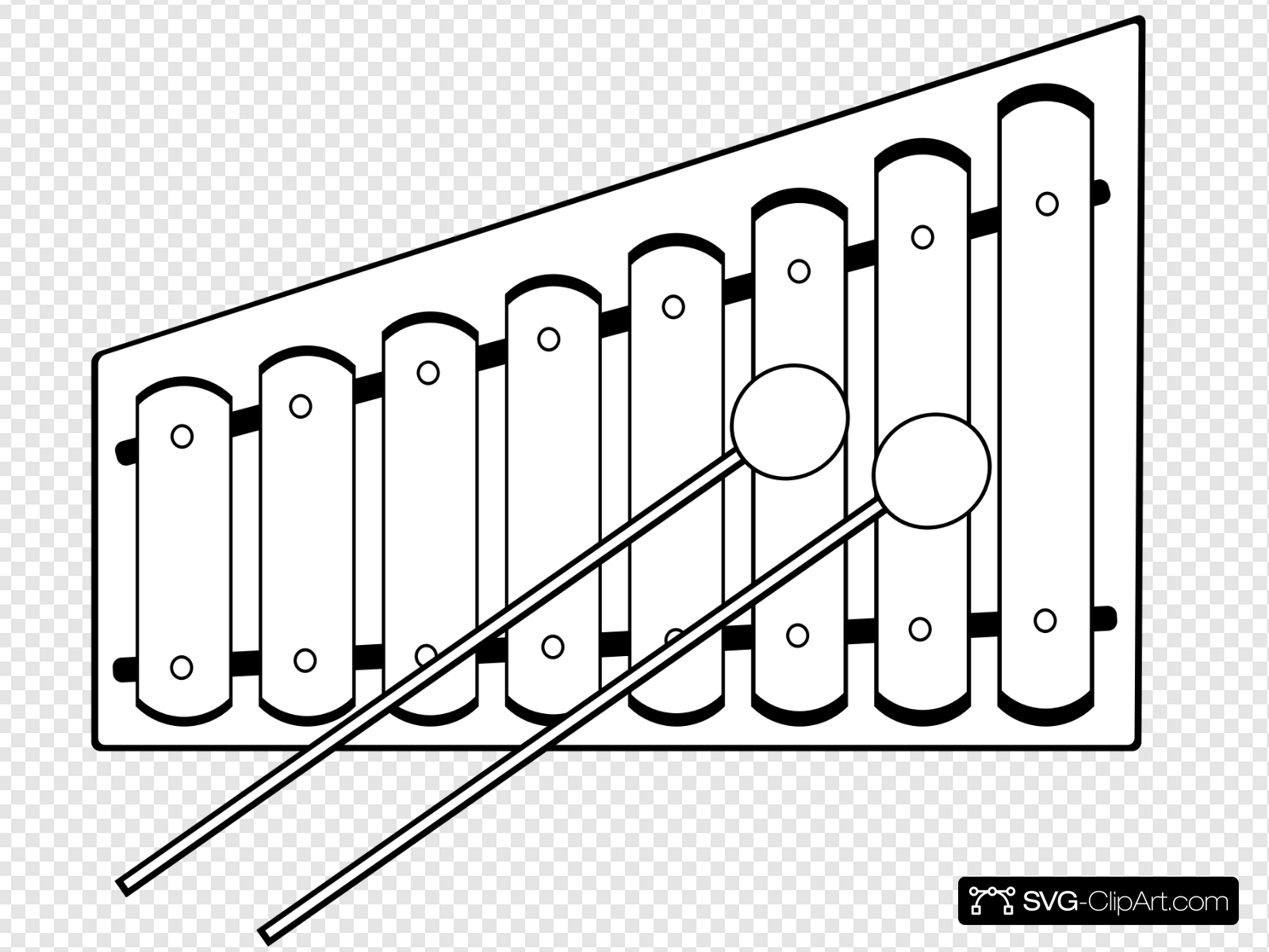 Xylophone clipart xlophone. Clip art icon and