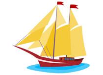 Boats clipart sailing boat. Free and ships clip