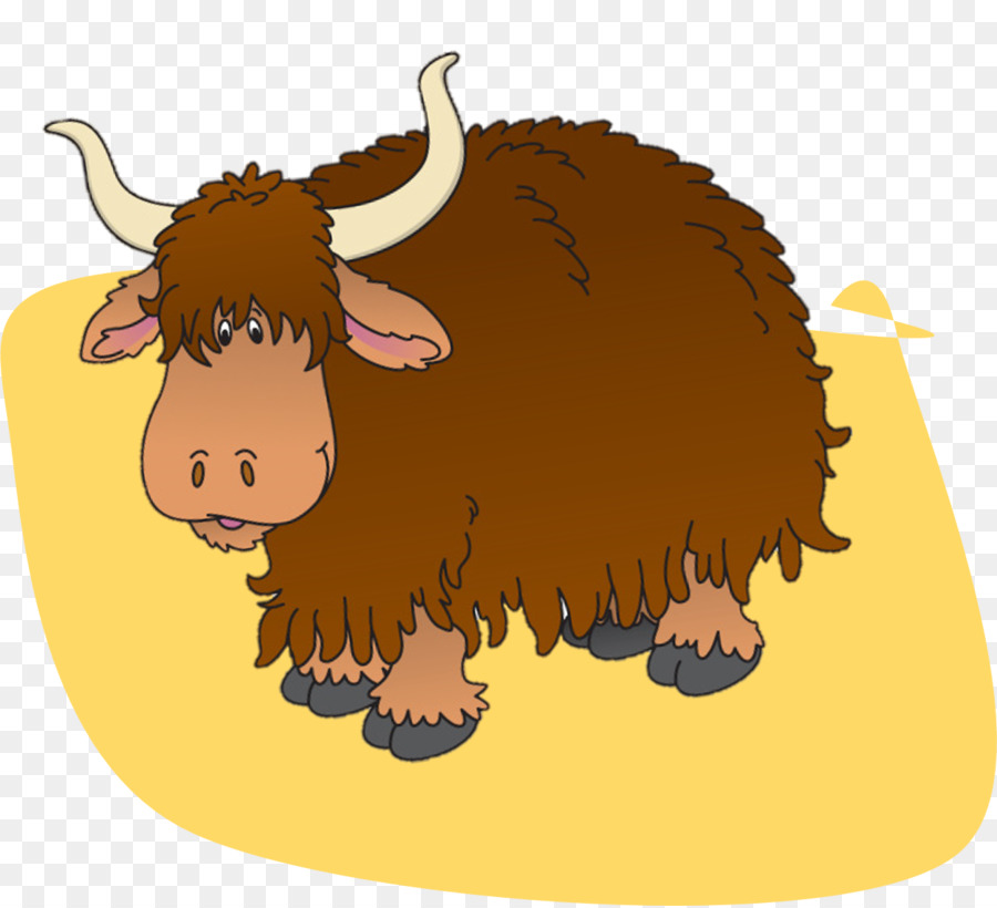 Bison clipart yak. Domestic free clip art