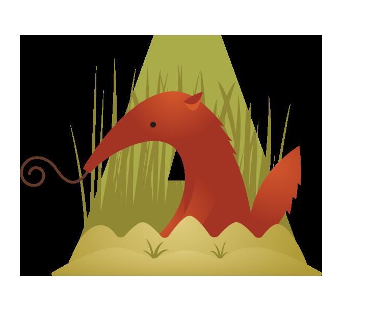 Illustrated monograms. Yak clipart alphabet animal