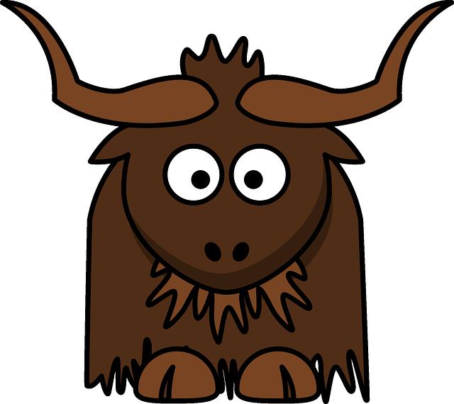 Free image on pixabay. Yak clipart alphabet animal
