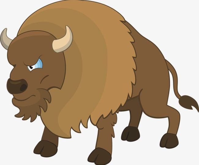 Png animal cartoon lovely. Yak clipart animated