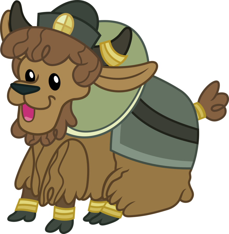 Yak clipart baby. Young by magister on