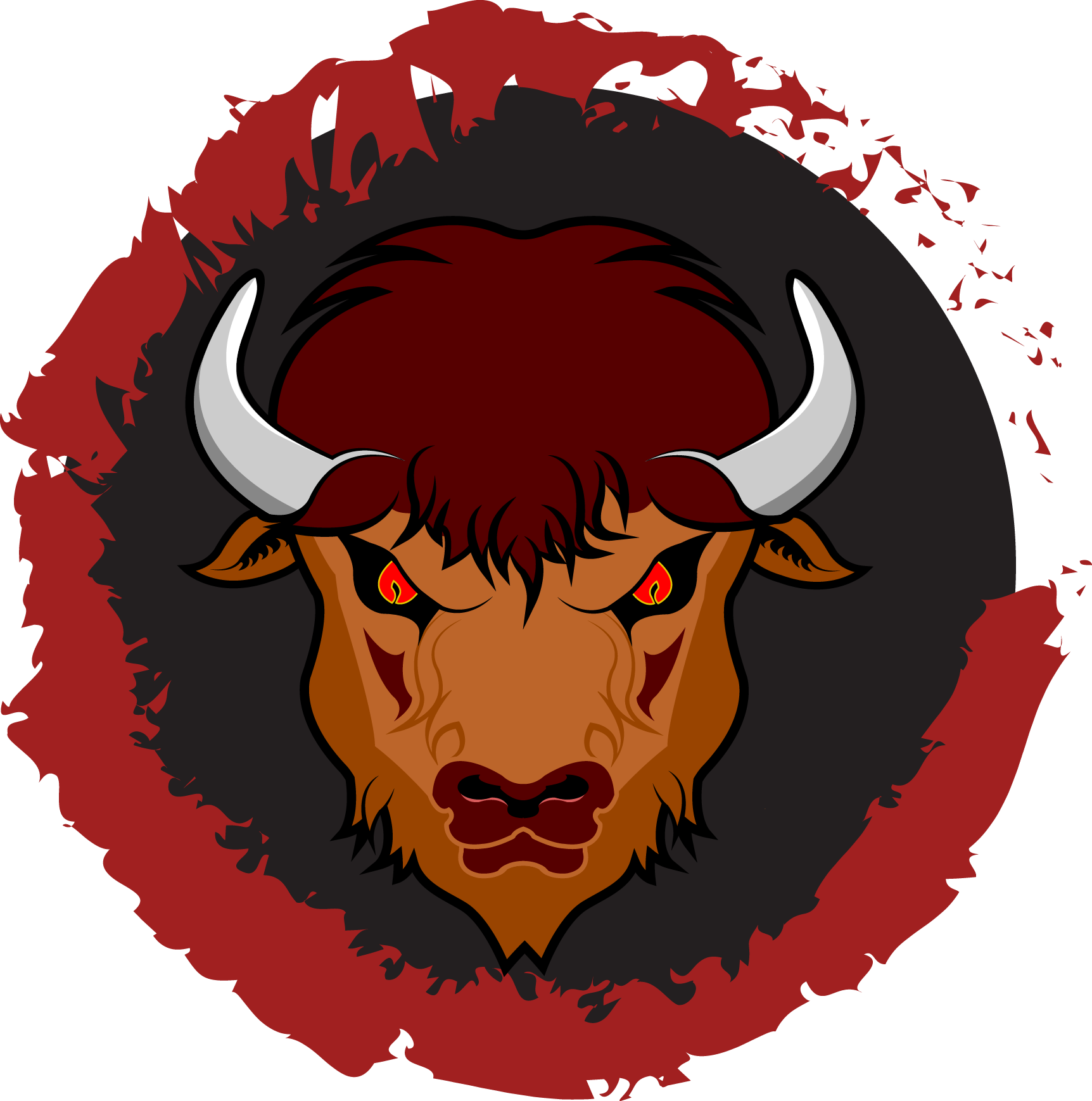 Yak clipart bison. About us buffalo heats