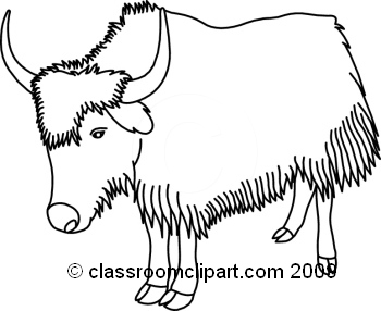 Cliparts free download best. Yak clipart black and white