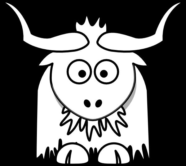yak clipart clip art