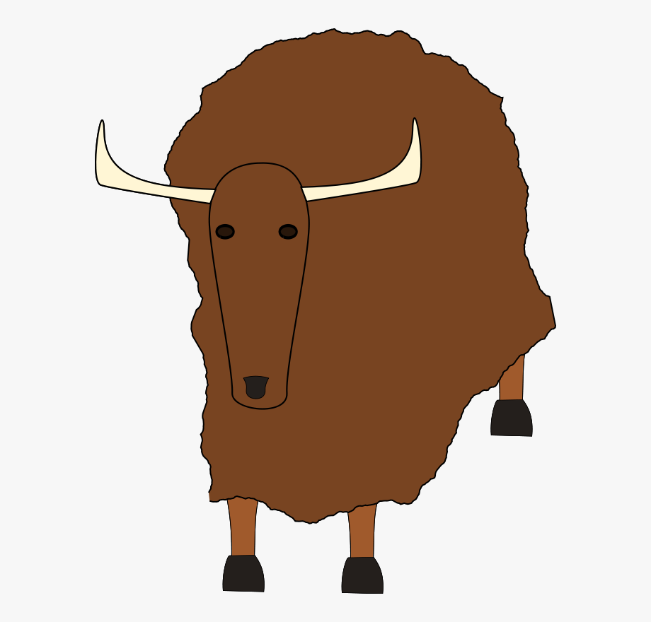 Yak clipart female buffalo. Ox download free