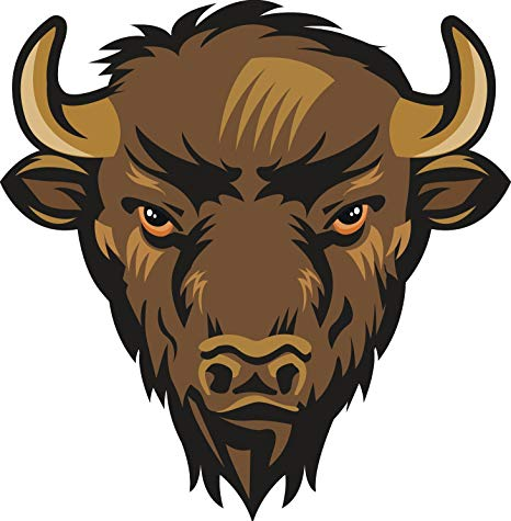 Yak clipart head. Amazon com scary angry
