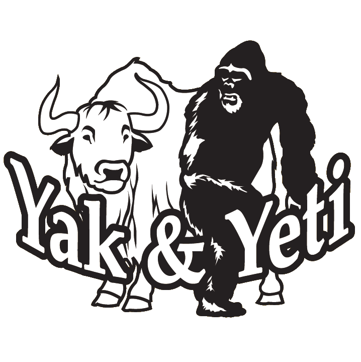 Arvada the and yeti. Yak clipart horns