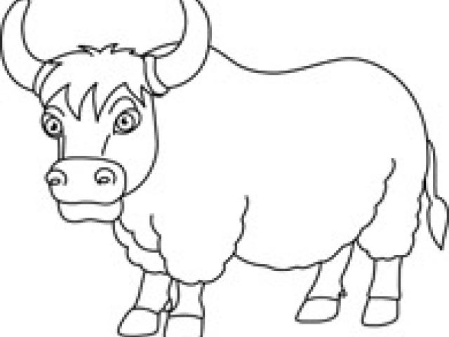 Yak clipart sketches. Free download clip art