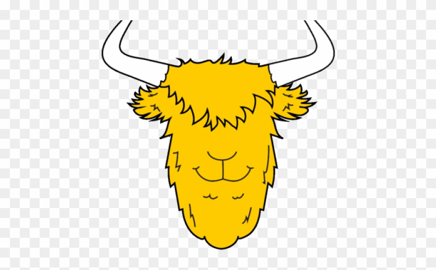 Yellow clip art png. Yak clipart tree