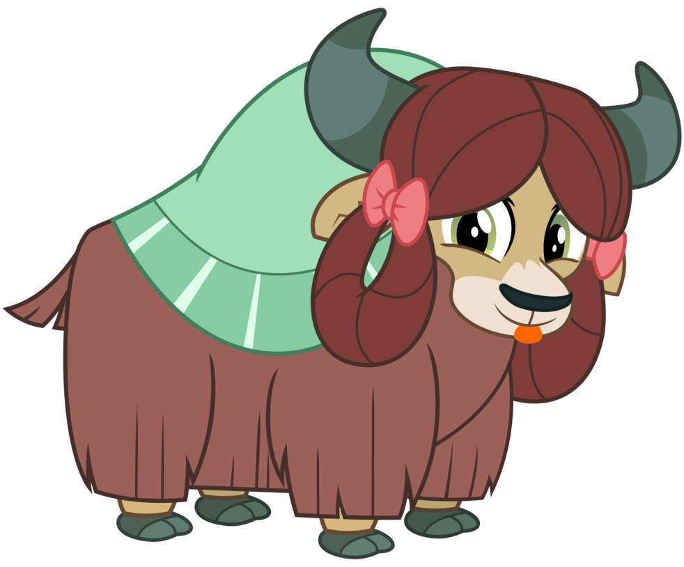 Yona the by cheezedoodle. Yak clipart vector
