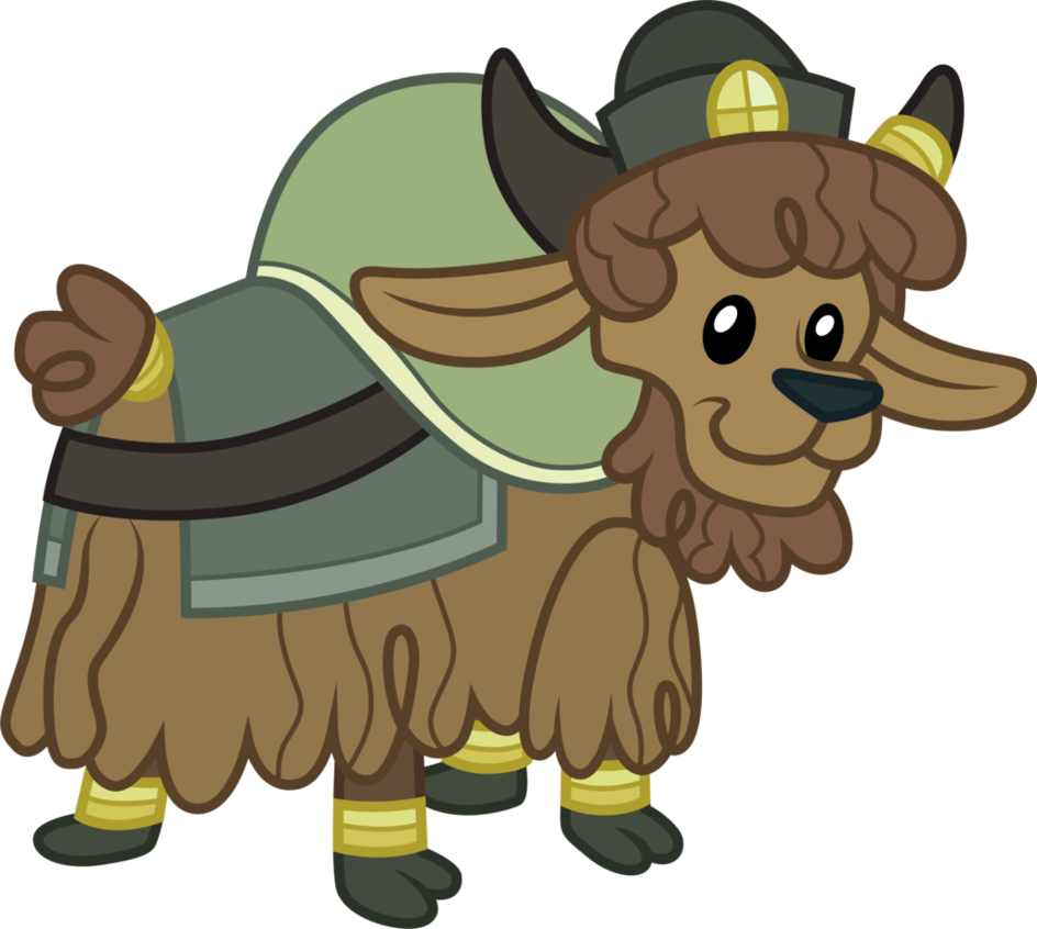 Young by cloudyglow on. Yak clipart vector