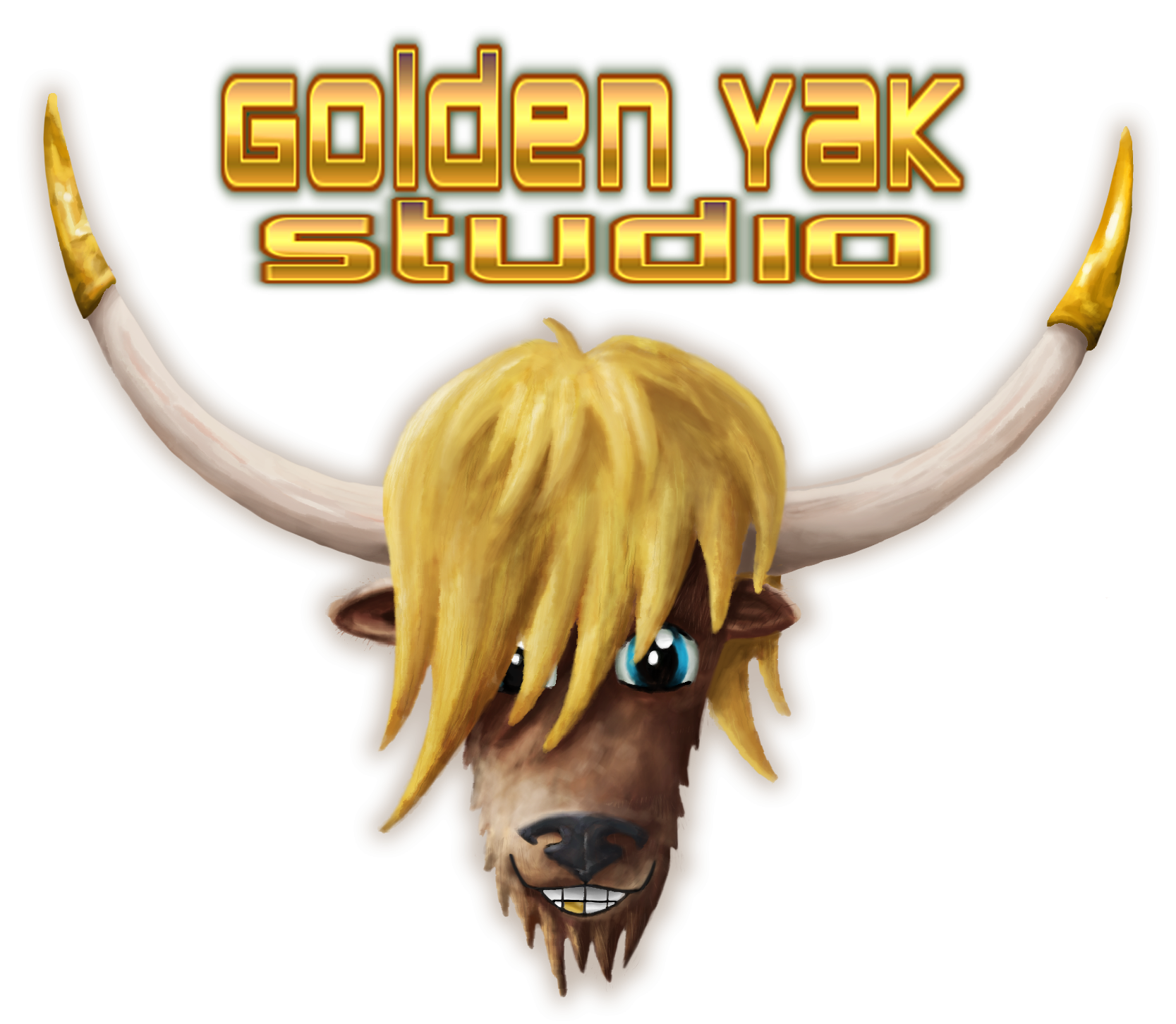 Yak clipart yellow. Golden studio