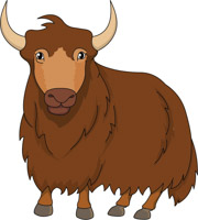 Free clip art pictures. Yak clipart