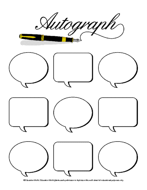 Free cliparts download clip. Yearbook clipart autograph