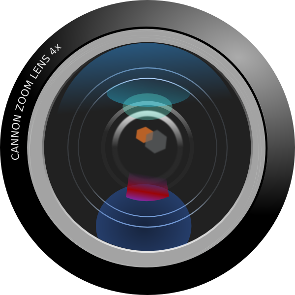 Yearbook clipart camera nikon. Dslr lens free on