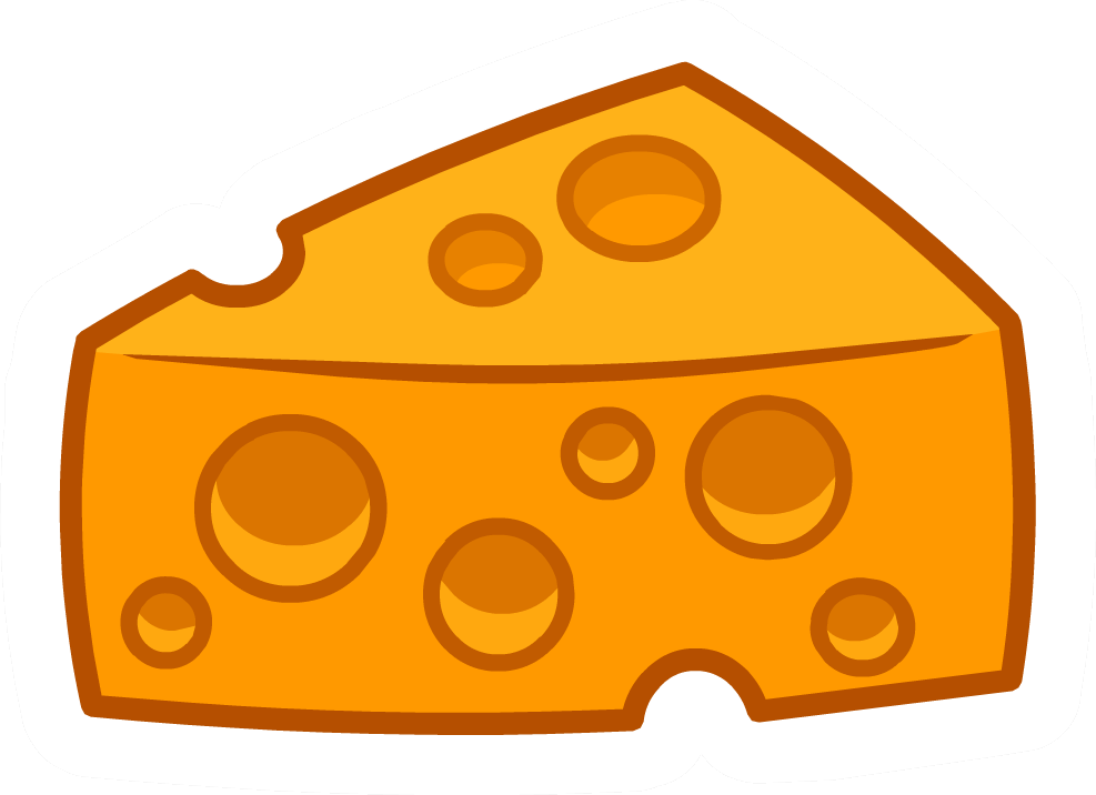 Yearbook clipart cheese. Pin club penguin wiki
