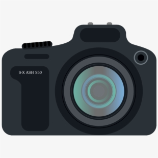 Dslr clip art download. Yearbook clipart digital camera