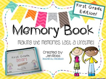 Yearbook clipart making memory. Book st grade edition