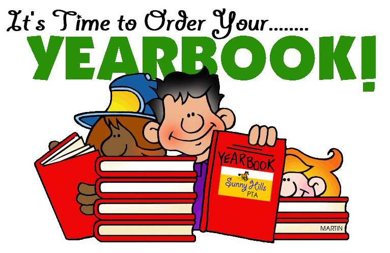 Your . Yearbook clipart order