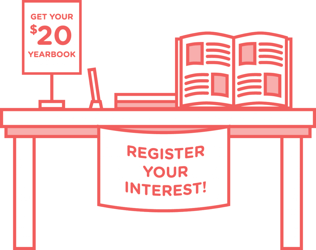 How to make a. Yearbook clipart sale flyer