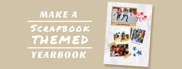 Yearbook clipart scrapbook themed. How to create a