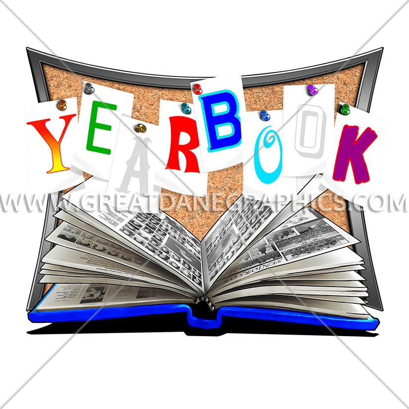 Yearbook clipart svg. Cards production ready artwork