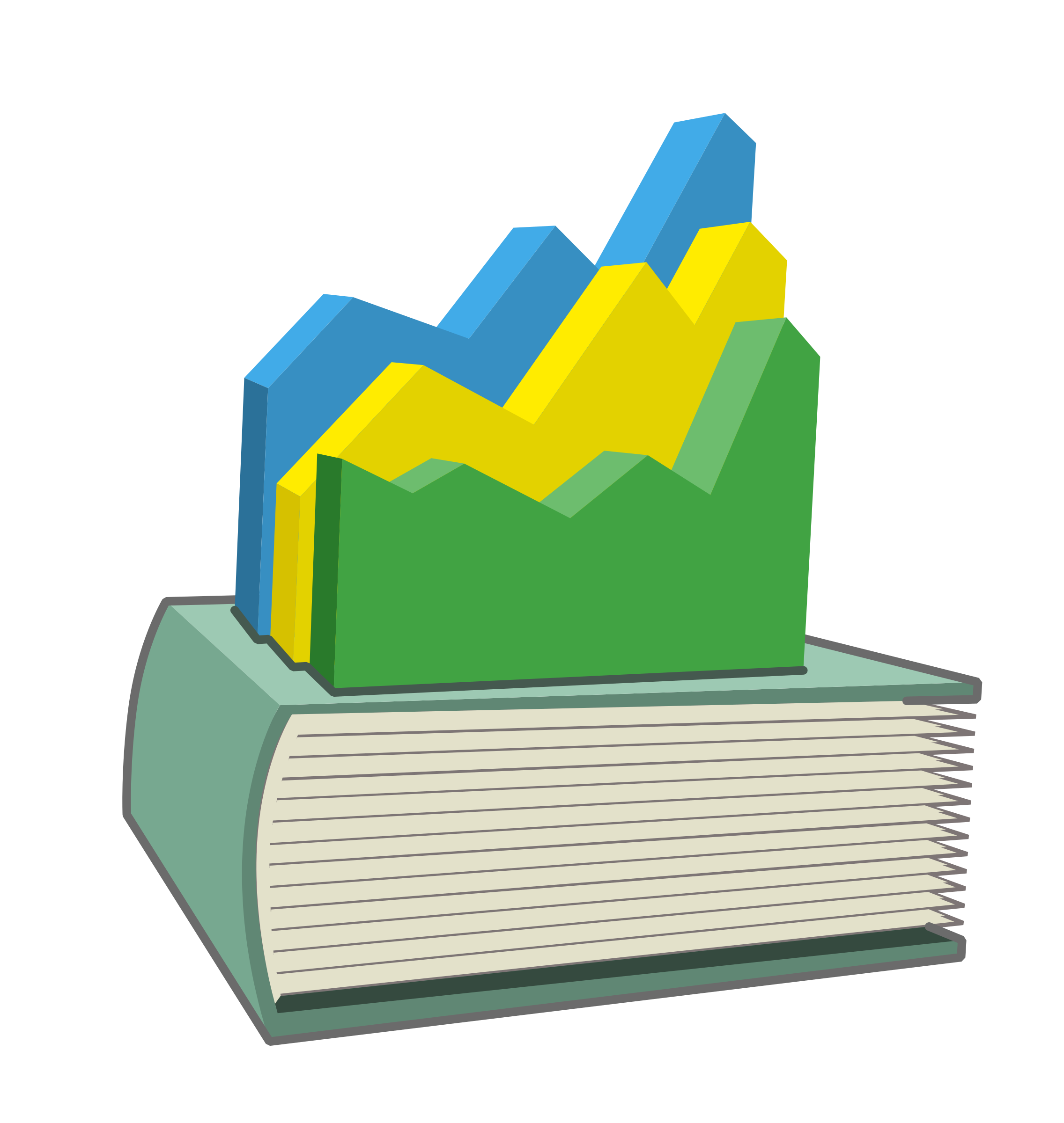 Statistical big image png. Yearbook clipart year book