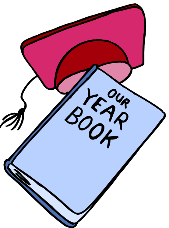 Middle school clip art. Yearbook clipart year book