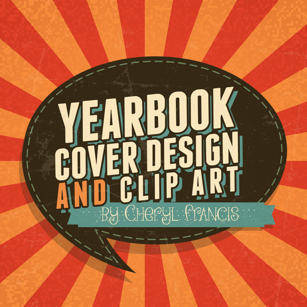 Yearbook clipart yearbook cover. Design and clip art