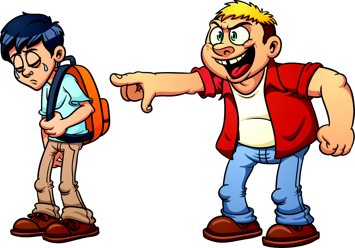 Yelling clipart bad citizen. Bully friend frames illustrations