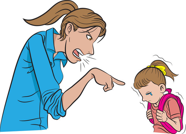 Yelling clipart bad mother. How to bounce back