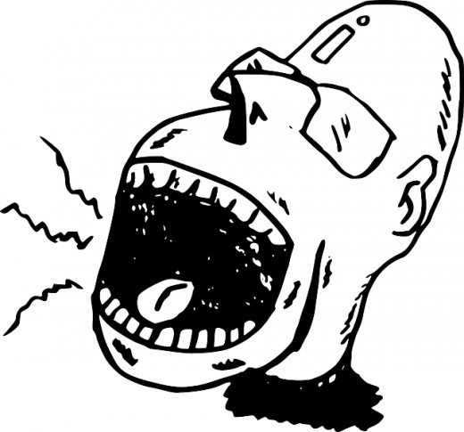Yelling clipart boss staff.  tips on how
