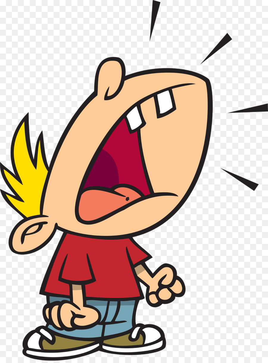 The scream at getdrawings. Yelling clipart boy shout