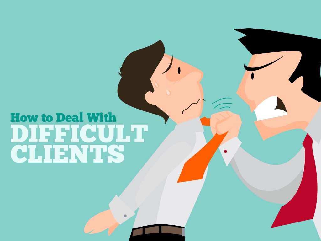 Yelling clipart difficult customer. How to better deal