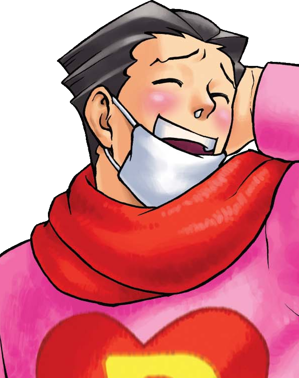 Yelling clipart disloyalty. Phoenix wright ace attorney