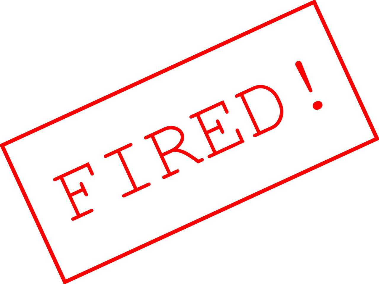 Yelling clipart employment law. Termination is not always