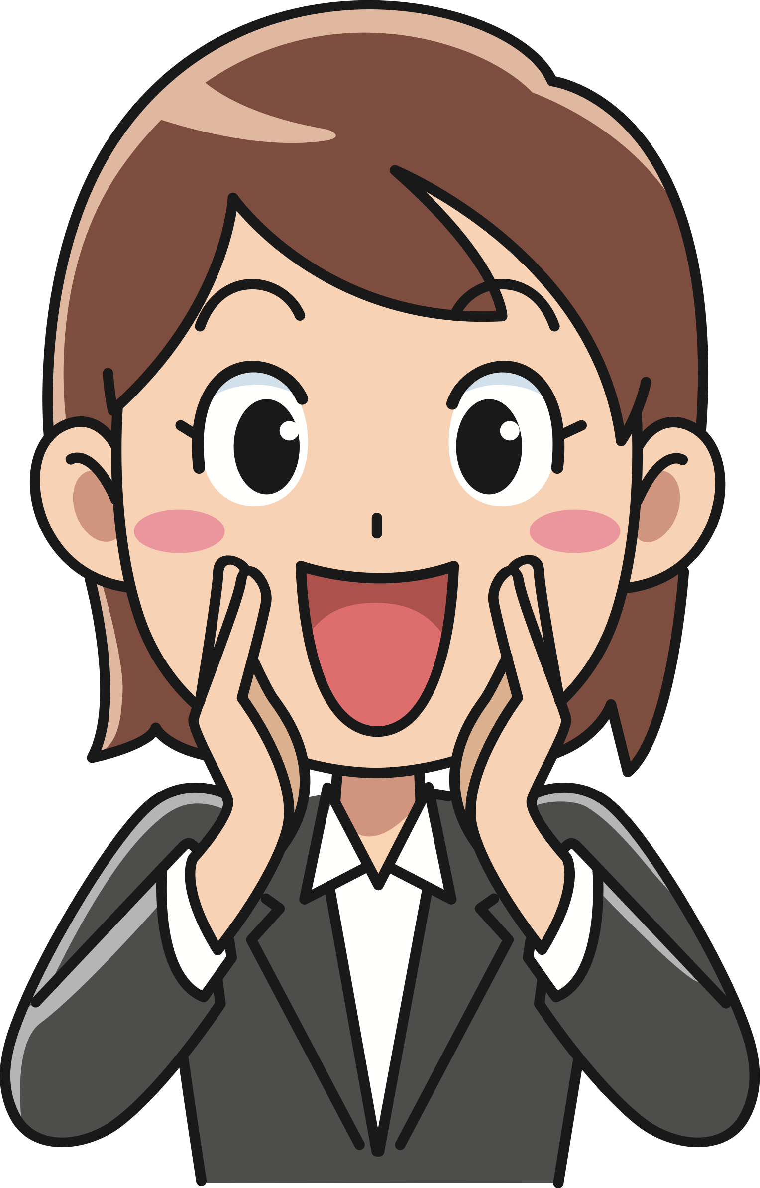 Yelling clipart heads up. Hey you big image