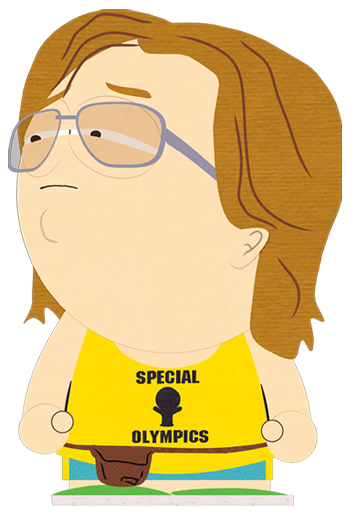 Yelling clipart heads up. Nathan south park archives