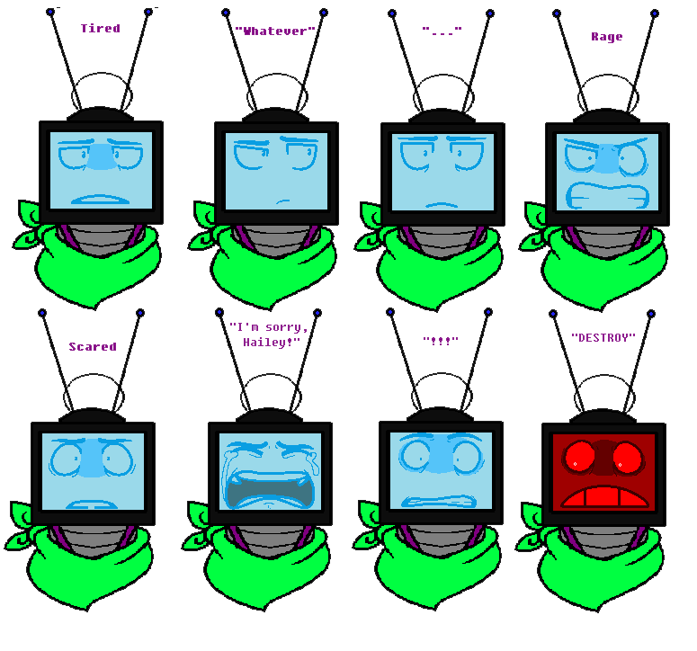 Yelling clipart heads up. Retro serious expressions tests
