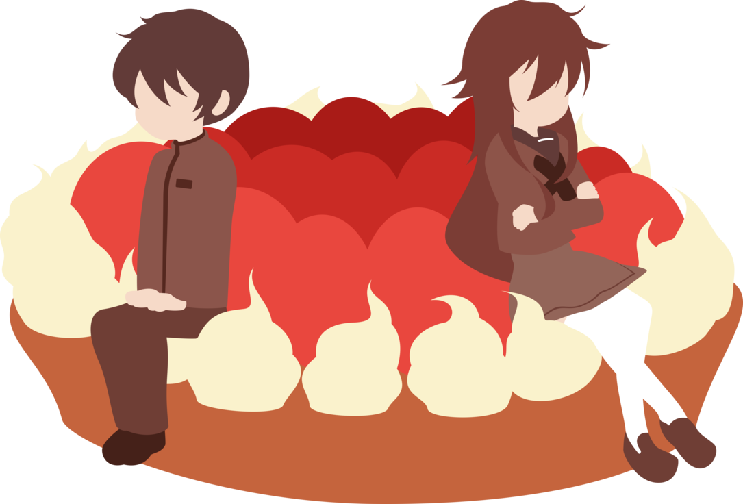Kazuki and aya the. Yelling clipart ignorance