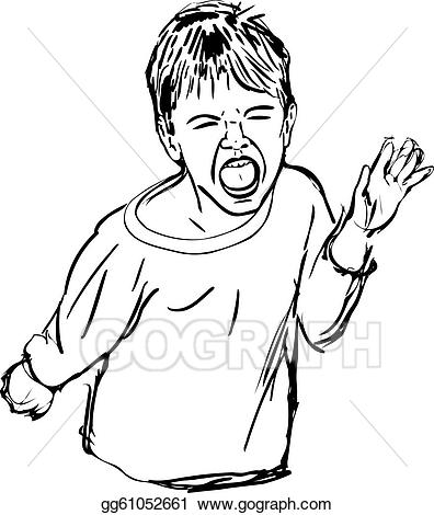 Yelling clipart loudly. Clip art vector sketch