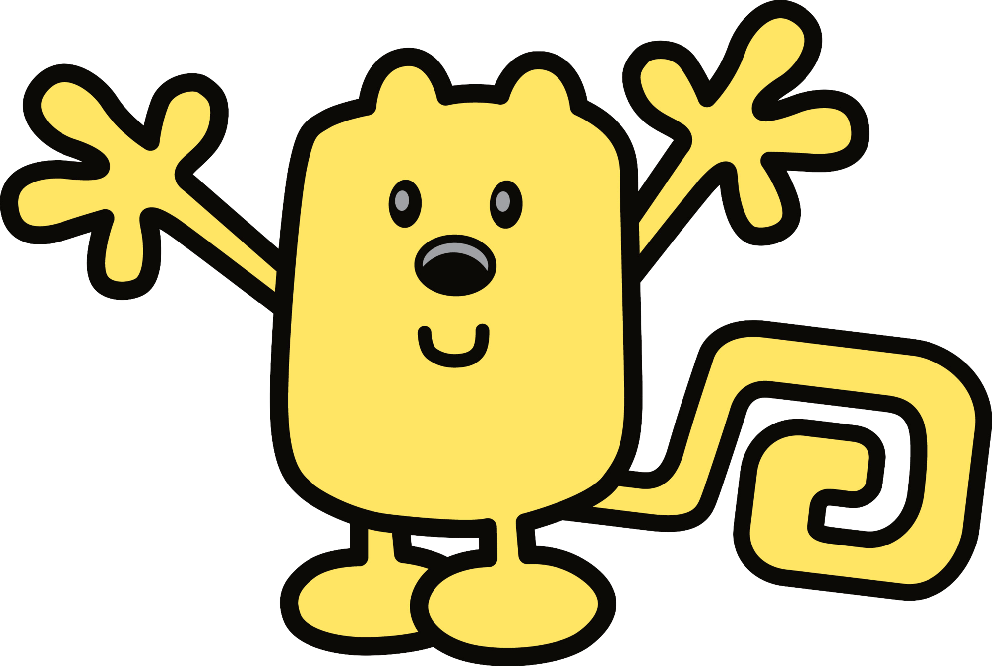 Yelling clipart manner. Wubbzy wubbzypedia fandom powered