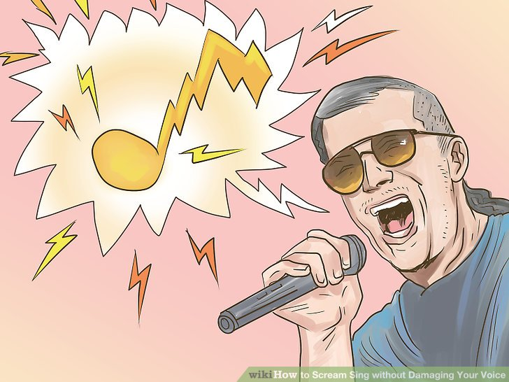 Yelling clipart normal voice.  ways to scream