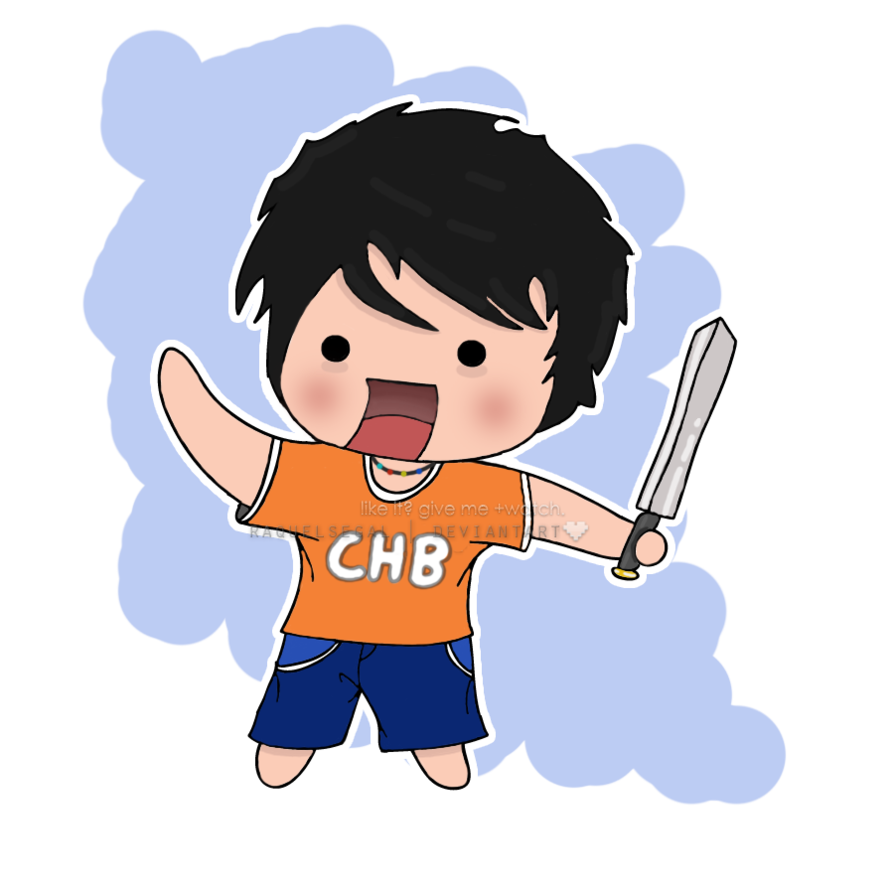 Percy jackson chibi by. Yelling clipart strict father