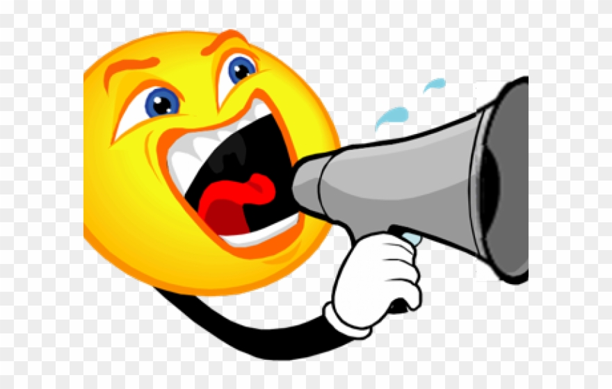 Noise megaphone png download. Yelling clipart trouble