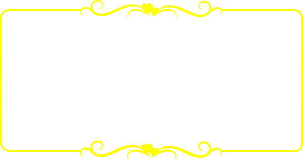Frame transparent picture mart. Yellow border png