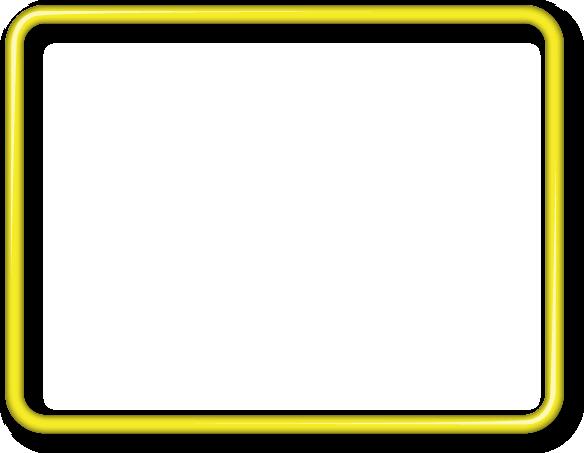 Yellow frame png. Frames pinterest cricut yellowframepng