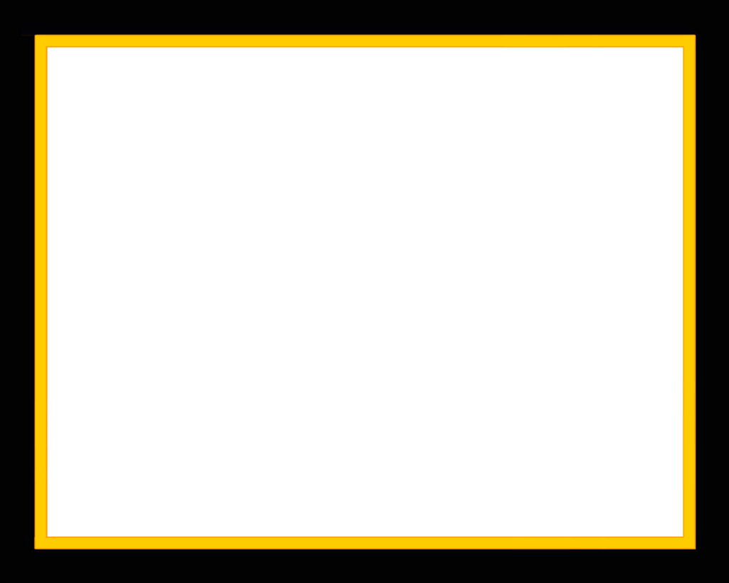 Border transparent peoplepng com. Yellow frame png